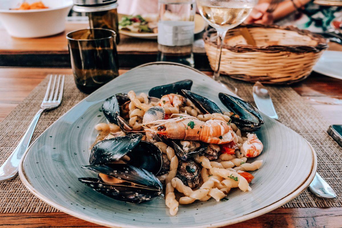 Welcher Wein passt Meeresfrüchten, oder Fleisch