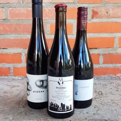 Weinpaket mit Rotwein