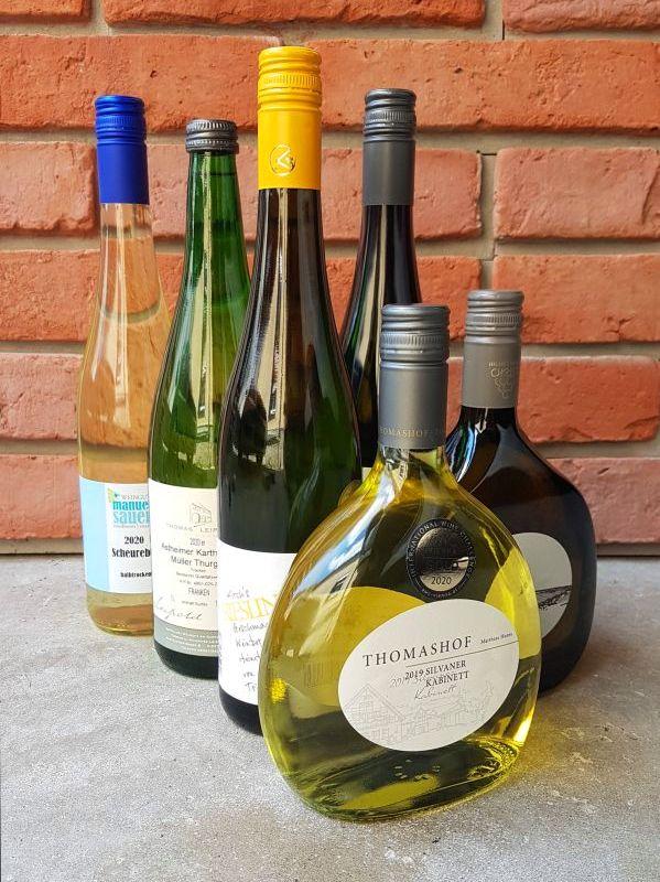 Frankenwein Weinprobe zu Hause