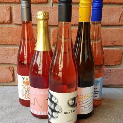 Sommerweinprobe zu Hause